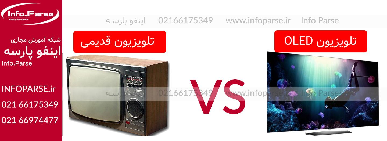 دستگاه تعویض فلت تلویزیون: مقایسه تلویزیون های قدیمی و جدید و نوع تعمیر آن ها