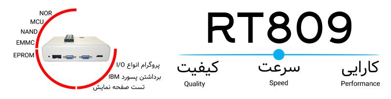 قابلیت های کلیدی پروگرامر RT809